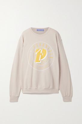 PARADISED Printed Cotton-blend Jersey Sweatshirt - Beige