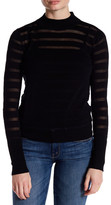 Shae Mock Neck Knit Sweater
