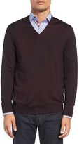 Stone Rose Men's Spray Dye Wool Sweater