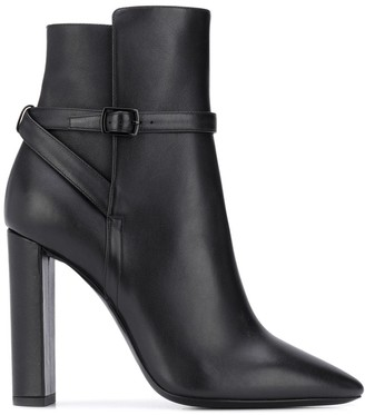 Saint Laurent 76 Jodhpur ankle boots