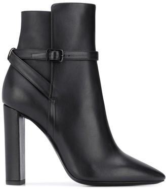 Saint Laurent High Heel Ankle Boots