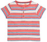 John Lewis GOTS Cotton Cuba Stripe T-Shirt, Multi/Red