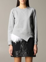 N°21 N° 21 N deg; 21 Sweatshirt With Feather Inserts