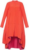 Antonio Berardi High Low Long Sleeve Dress