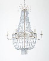 Horchow Maris 6-Light Beaded Chandelier