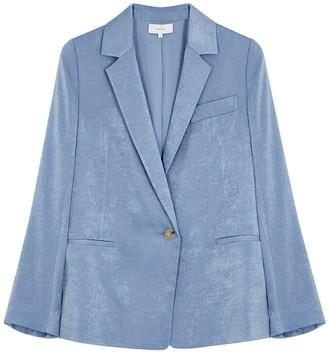 Vince Light blue brushed satin blazer