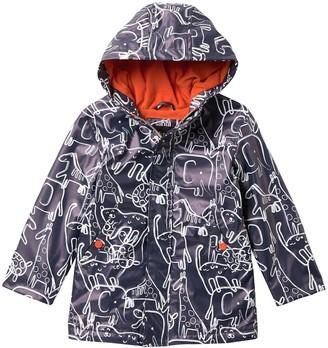 iXtreme Fleece Lined Animal Print Rain Jacket (Toddler)