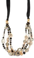 Saks Fifth Avenue Handmade Goldplated Multi-Strand Necklace