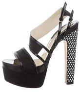 Brian Atwood Platform Multistrap Sandals