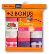 Fruit of the Loom Girls' Bikini Briefs - 4