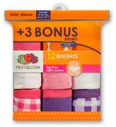 Fruit of the Loom Girls' Bikini Briefs