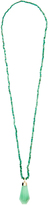 Jade Jagger Chrysoprase & yellow-gold Never Ending necklace