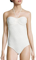 Shoshanna Ivo One-Piece Cinched Swimsuit