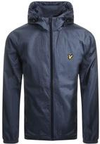 Lyle & Scott Full Zip Hooded Jacket Blue