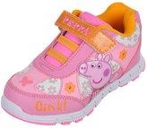 "Peppa Pig Girls' ""Oink!"" Light-Up Sneakers"