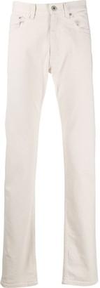 Brioni Straight-Leg High Rise Jeans