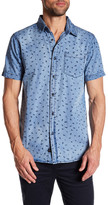 Globe Short Sleeve Print Standard Fit Shirt