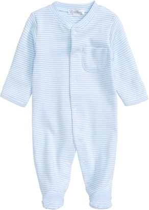 Kissy Kissy Stripe Pima Cotton Footie