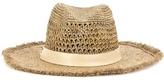 Hat Attack Continental Raffia Hat