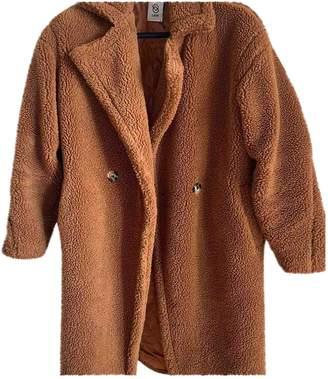 Ducie Brown Faux fur Coat for Women