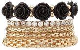 Charlotte Russe Plus Size Embellished Layering Bracelets