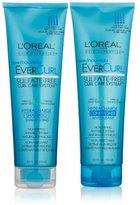 L'Oreal EverCurl Hydracharge Shampoo, 8.5 Fluid Ounce & EverCurl Hydracharge Conditioner, 8.5 Fluid Ounce