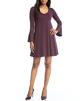 Karen Kane Taylor Flare Sleeve Dress