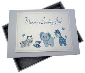 White Cotton Cards Mummy's Boasting Book Photo Album (Tiny, Blue)