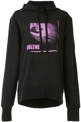 Ann Demeulemeester Jolene cut-out hoodie
