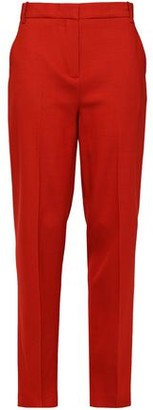 Victoria Victoria Beckham Victoria, Victoria Beckham Wool-blend Crepe Straight-leg Pants