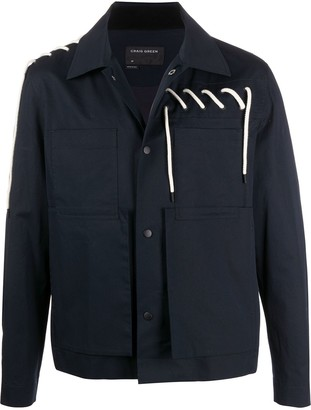 Craig Green Rope Detail Shirt Jacket