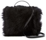 Vivienne Westwood Genuine Lamb Fur Shoulder Bag