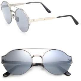 Bottega Veneta 59MM Round Metal Sunglasses