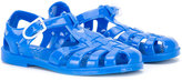 Armani Junior logo jelly sandals - kids - rubber - 20