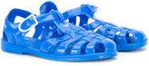 Armani Junior logo jelly sandals - kids - rubber - 21