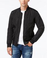 GUESS Men's Sebastian Full-Zip Bomber Jacket