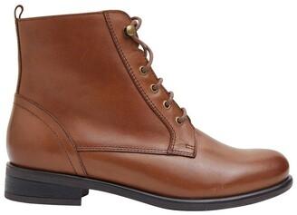 Sandler Badge Mid Brown Glove Boots Lt