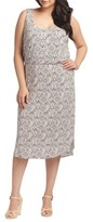 Tart Plus Size Women's Soraya Print Jersey Midi Dress
