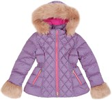 Juicy Couture Girls Delta Geo Puffer