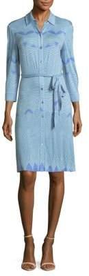Robert Graham Three-Quarter Sleeve Dress