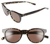 BOSS Men's '0803/s' 51Mm Sunglasses - Black/ Grey