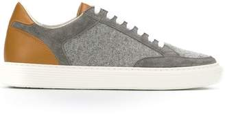 Brunello Cucinelli panelled sneakers