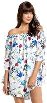 Seafolly Botanical Off Shoulder Dress