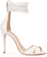 Schutz cross strap sandals