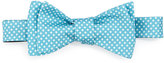 Ted Baker Crowded-Dot Silk Bow Tie, Aqua