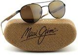 Maui Jim UPCOUNTRY Polarized Metal Unisex Sunglasses (, HCL Bronze Lens H727-01M)