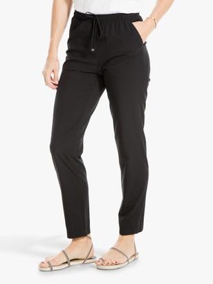 Max Studio Drawstring Trousers, Black