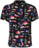 Emporio Armani zipped blouse