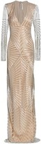Thumbnail for your product : Naeem Khan Beaded Column Gown
