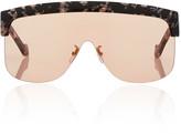 Loewe Oversized Tortoiseshell Acetate Sunglasses